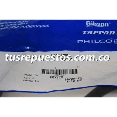 Correa para lavadora  Electrolux Ref 137051400