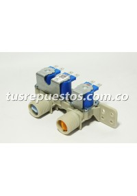 Válvula 3 vías AJU72912501 para lavadora LG carga superior