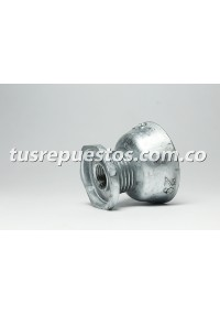 Polea motor secadora whirlpool Ref 8066184